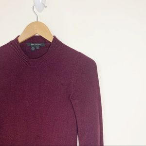 Marc Jacobs Italian Cashmere Sweater Burgundy XS